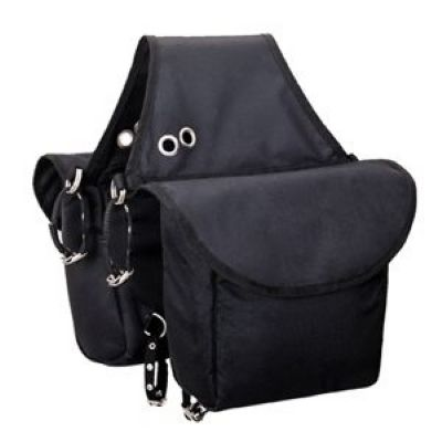 INSULATED SADDLE BAG, BLACK