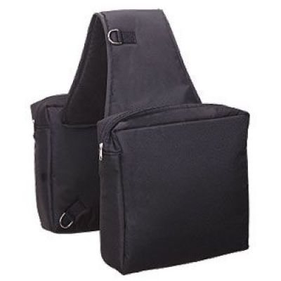 HEAVY DUTY SADDLE BAG, BLACK