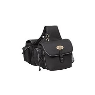 TRAIL GEAR SADDLE BAG, BLACK