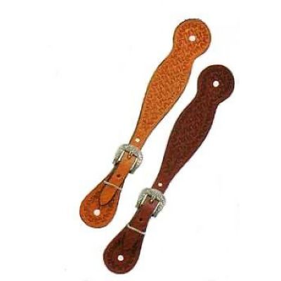 Basketweave Spur strap lady