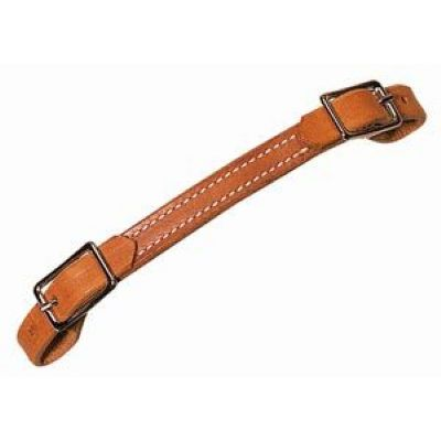 NP HL FLAT CURB STRAP, RUSSET