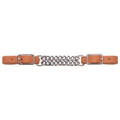 HL 41/2 DBL CHAIN CURB, RUSSET