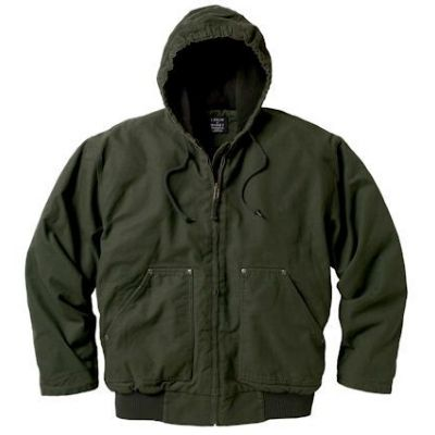 Bark Hooded Jacke Fleece lnd