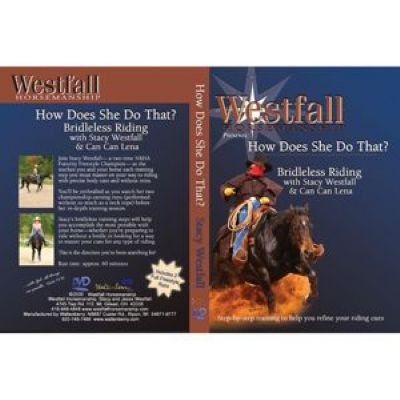 BRIDLELESS RIDING DVD