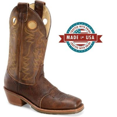 Buckaroo Boot Sq Toe OAK ICE 8 EE